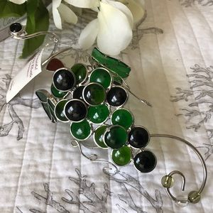 Stained Glass Look Wine Bottle Wraparound for Gift